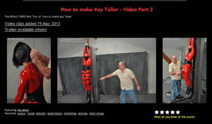 House of Gord: How to make Kay Taller - Video Part 2