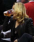 Хайден Панотье, фото 14530. Hayden Panettiere - watching a basketball game at the Staples Center 03/07/12, foto 14530