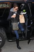 Shailene Woodley arrives at her hotel in New York 03/21/14